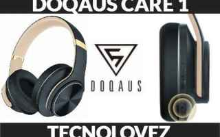 doqaus care 1 cuffie bluetooth over ear