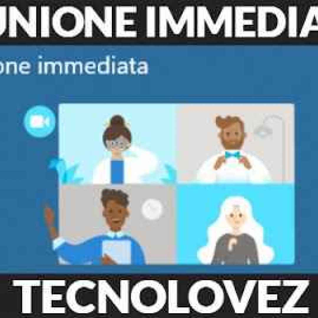 riunione immediata windows 10