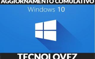 Computer: windows 10 kb4586853 aggiornamento