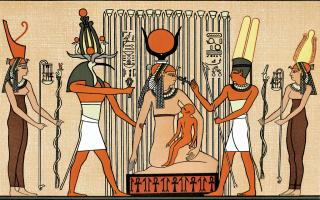Cultura: iside  maternità  osiride  mitologia