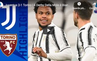 Serie A: juventus torino video calcio gol