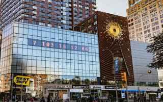 Viaggi: L'orologio che ci dice quanto tempo ci resta: Union Square Metronome new York