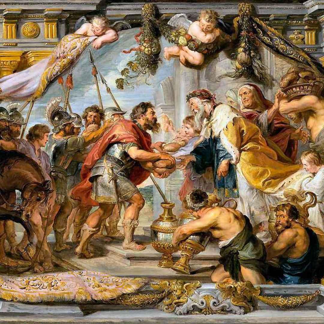 pieter paul rubens  anversa  arte  miti
