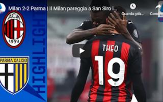 Serie A: milano milan parma calcio video gol