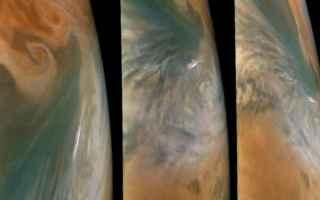 Astronomia: giove  juno  nasa