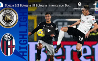 spezia bologna video gol calcio