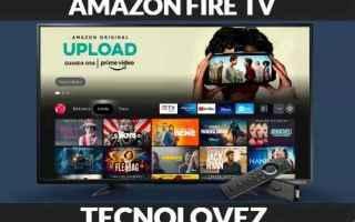 Amazon: aggiornamento  amazon fire tv