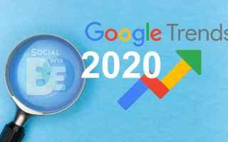 Google: google trends 2020