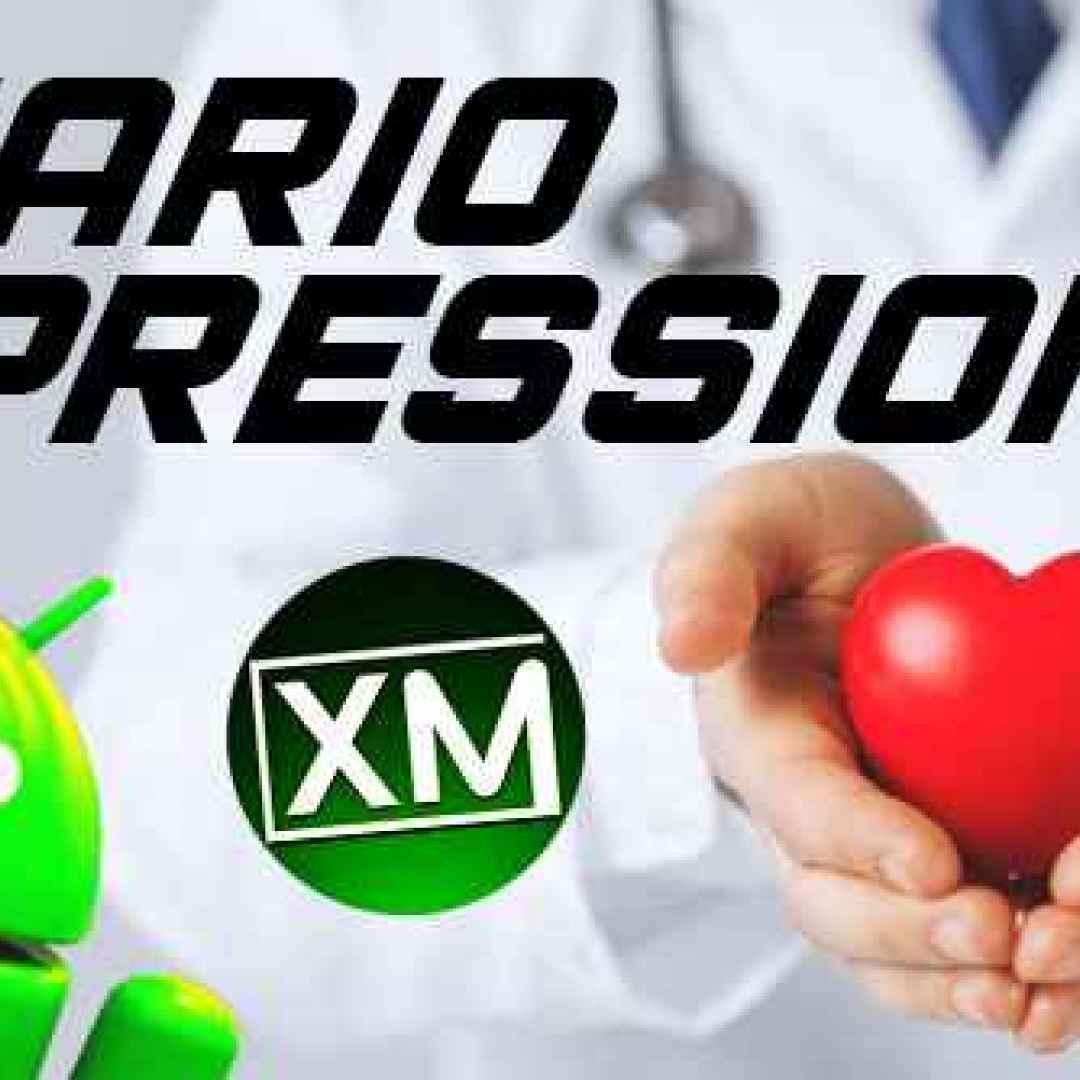 salute android cuore sangue pressione