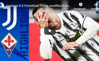 Serie A: torino juventus fiorentina video calcio
