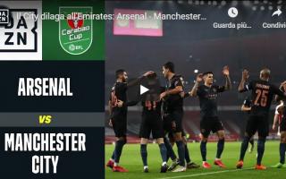 Calcio Estero: arsenal city calcio inghilterra video