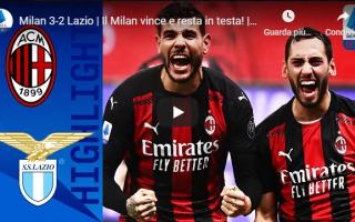 Serie A: milano milan lazio calcio video gol