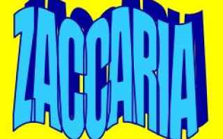 zaccaria  etimologia  significato  nomi