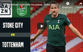 stoke city tottenham video inghilterra