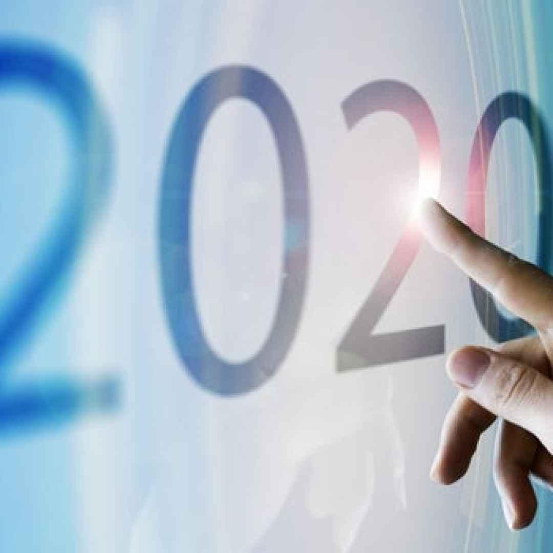 2020  imparare dal 2020  anno 2020