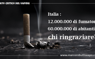 Salute: ecig  sigaretta elettronica  fumo