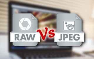 Fotoritocco: Prima lezione del Corso Adobe Lightroom: Introduciamo i file raw e Jpeg