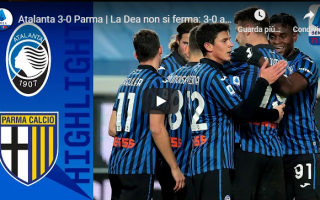 Serie A: bergamo atalanta parma video calcio