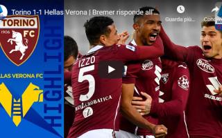 Serie A: torino verona video calcio gol