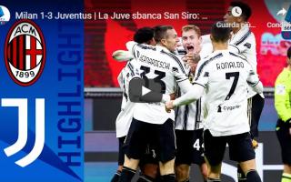 Serie A: milano milan juventus video calcio gol