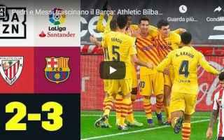 Calcio Estero: bilbao barcellona video calcio spagna