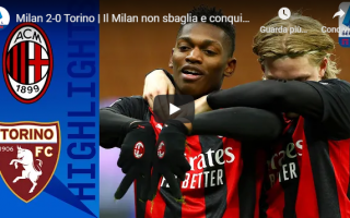 Serie A: milano milan torino calcio video gol