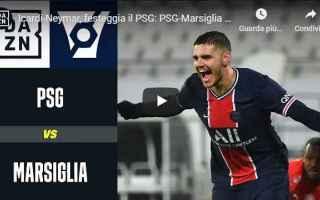 Calcio Estero: coppa francia psg marsiglia video calcio