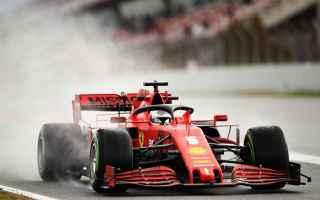 Vettel anche nel 2020 a causa e di una Ferrari in crisi è riuscito a salutare i tifosi della Cavall
