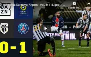 Calcio Estero: francia angers psg video calcio ligue 1