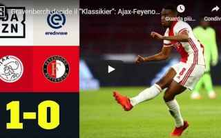 amsterdam olanda video calcio ajax
