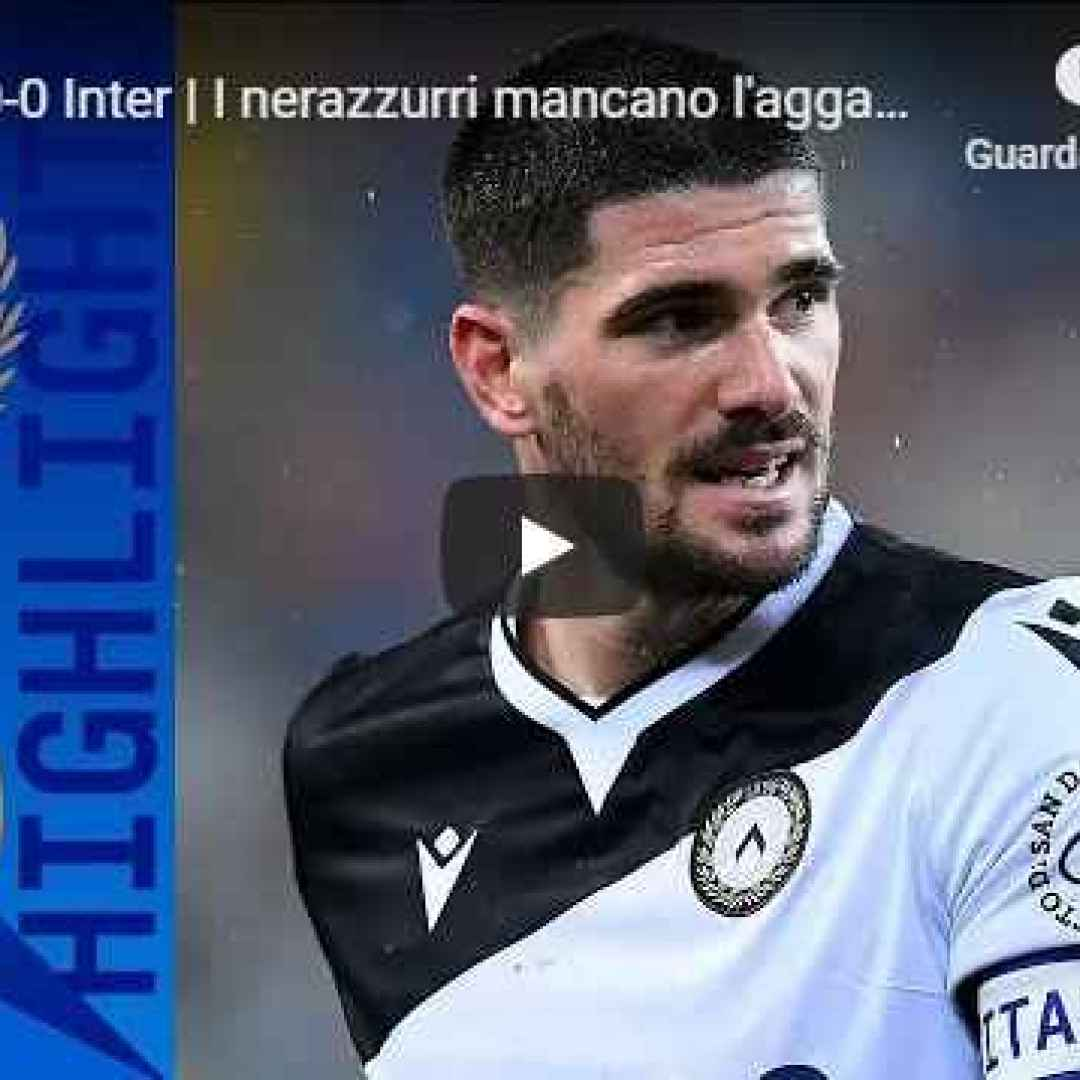 udine udinese inter video calcio gol