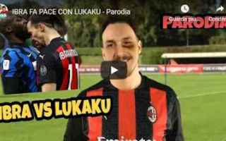 Calcio: milano inter milan ibra lukaku video