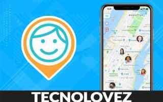 App: isharing  applicazione per localizzare