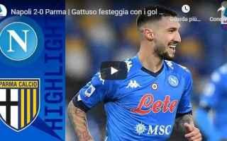 Serie A: napoli parma video sport calcio