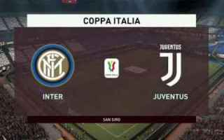 Coppa Italia: calcio juventus coppaitalia inter