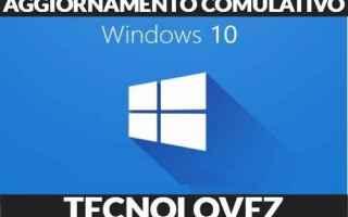 Computer: aggiornamento cumulativo windows