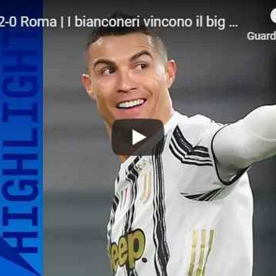 torino juventus roma video calcio sport