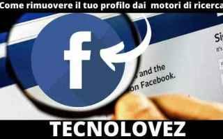 Facebook: facebook  motore di ricerca