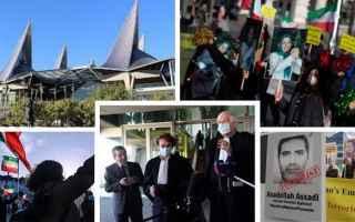 dal Mondo: Assadi, diplomatico iraniano, condannato a 20 anni di prigione per complotto terroristico in Francia