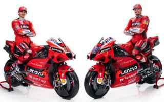 MotoGP: LA DUCATI PRESENTA LA GP21 E LA NUOVA COPPIA MILLER-BAGNAIA