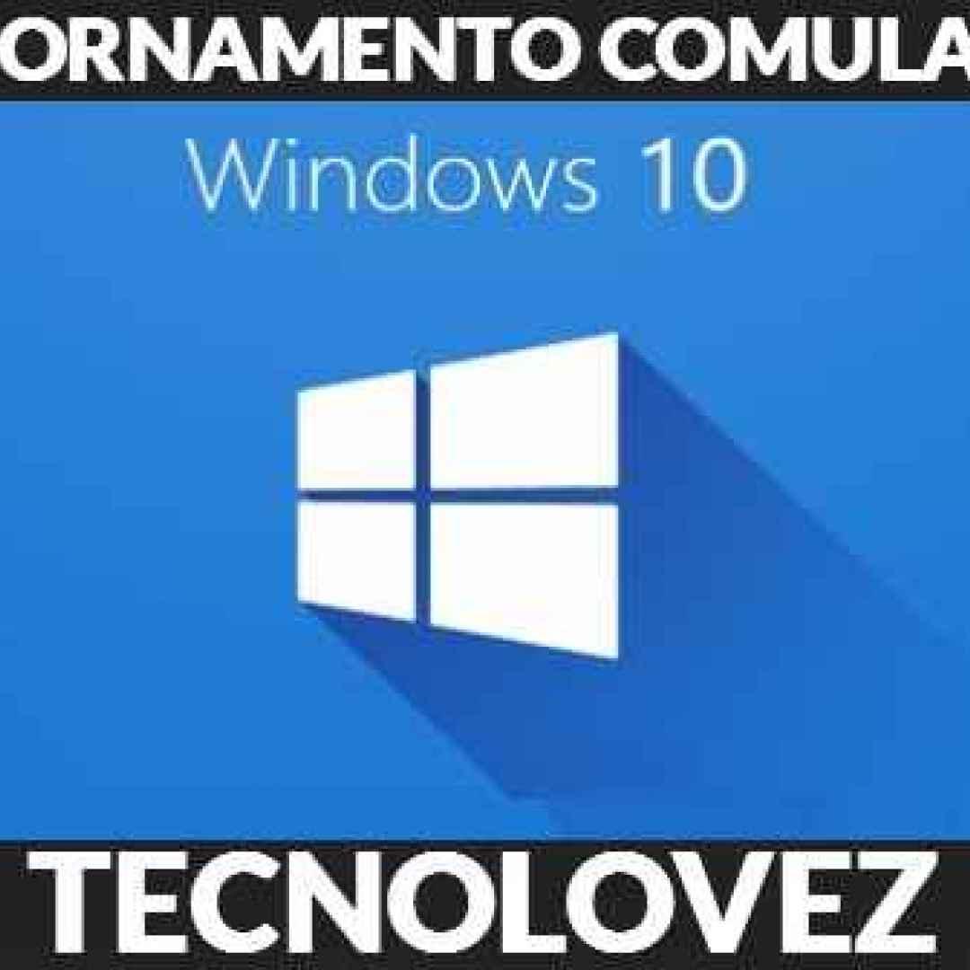 aggiornamento cumulativo windows