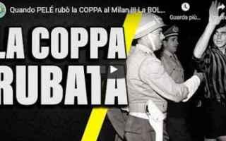 Calcio: storia calcio video coppa milan