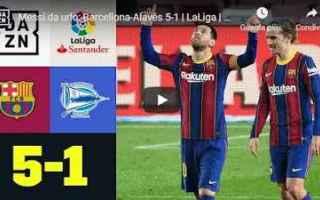 Serie A: barcellona alaves video spagna calcio