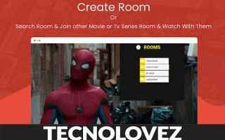Internet: web flix party estensione chrome