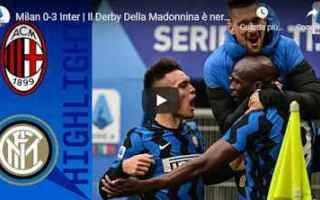 Serie A: milano milan inter video calcio sport