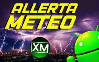 Scienze: meteo allerta meteo android app blog
