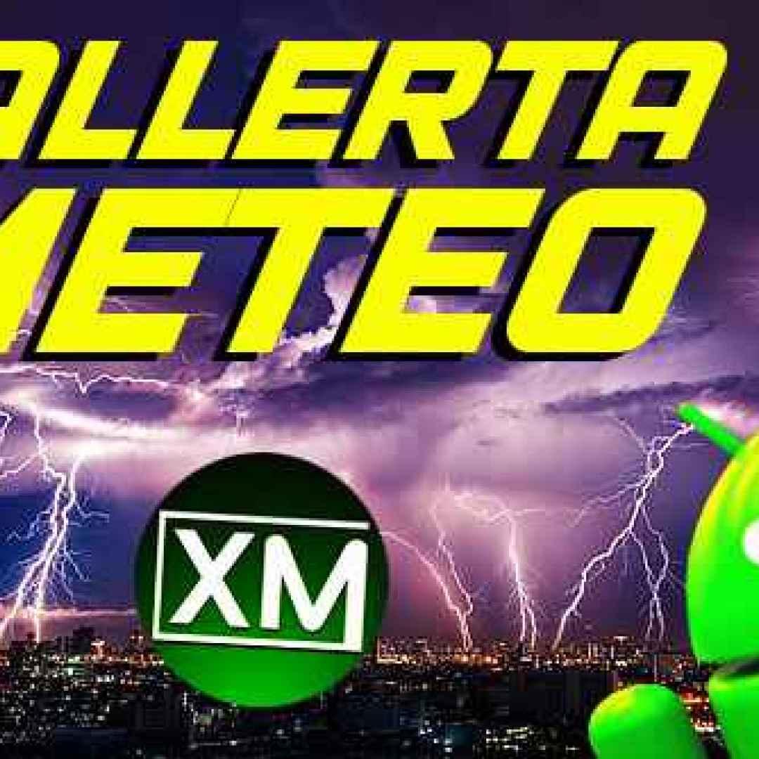 meteo allerta meteo android app blog