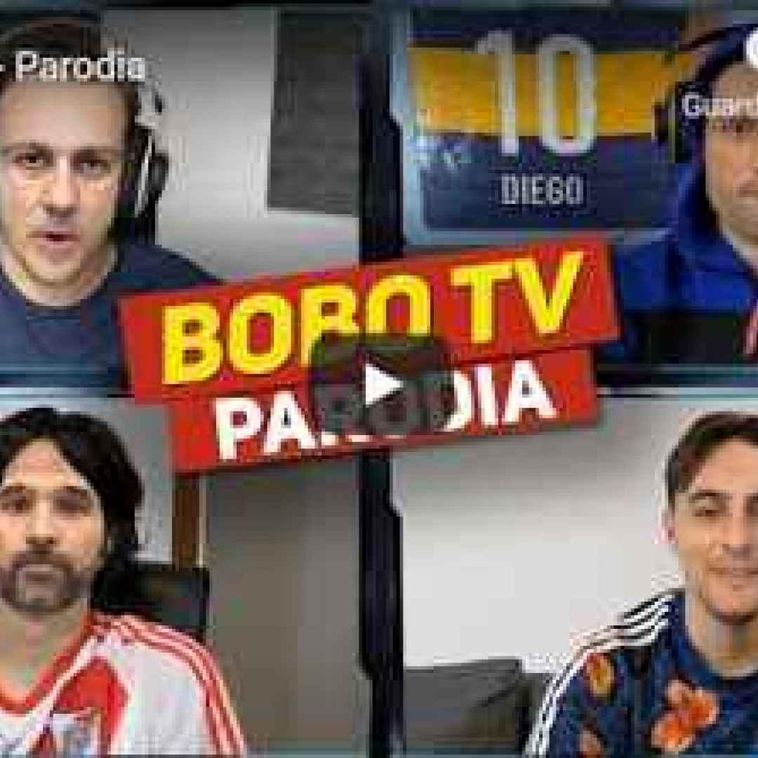 satira gli autogol video tv calcio