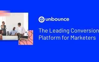 Web Marketing: landing page builder