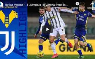 verona juventus video calcio sport